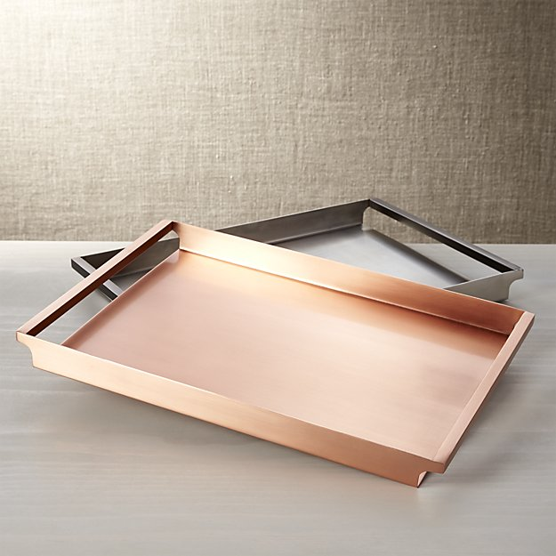 Orb Copper Tray - $99.95