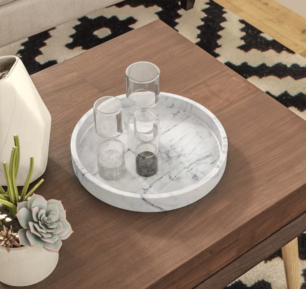 Romy Square Metal Coffee Table Am Pm: My Ten Favorite Coffee Table Trays