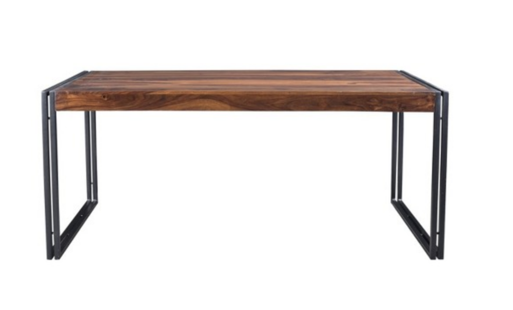 Seesham Wood and Iron - Dining Table - $599.99 - Target