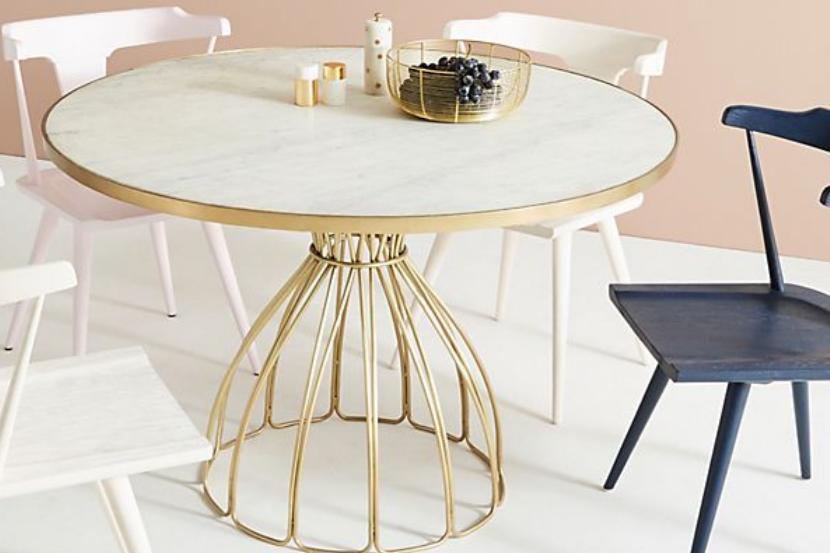 Seaford Pedestal Dining Table - $1,038.40 - Anthropologie