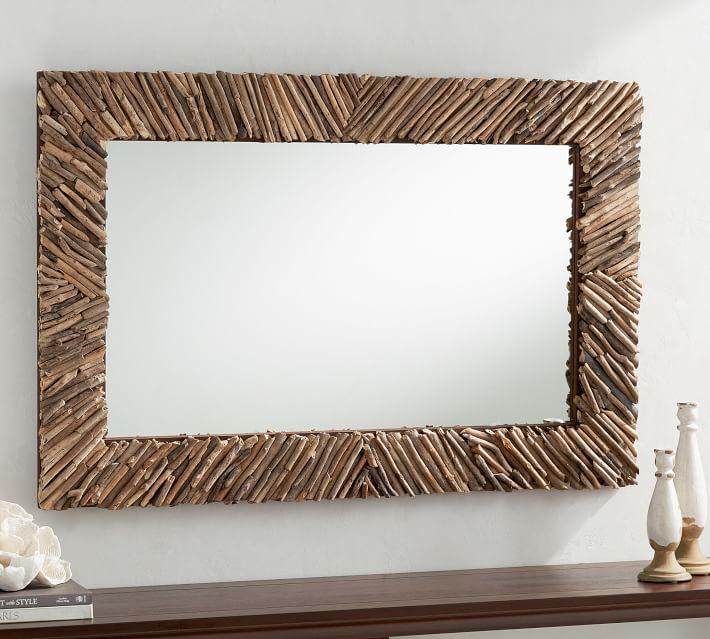 Natural Driftwood Mirror - $343