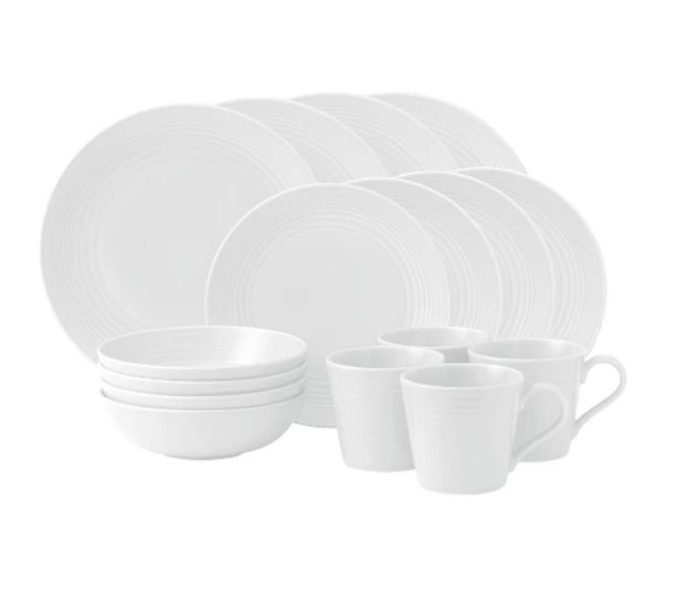 Maze Stoneware Dinnerware Set - Target
