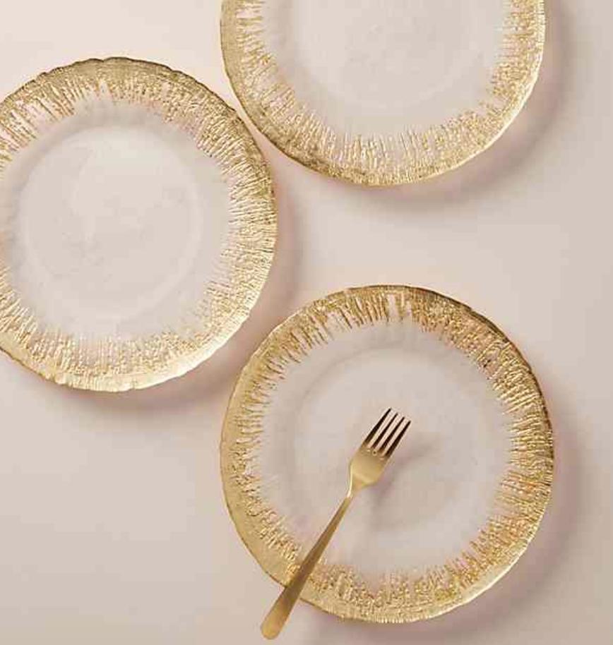 Thistlewhit Dinner Plates - Anthropologie