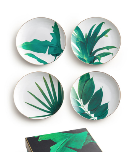 Nanette Botanical Plates - Lulu and Georgia