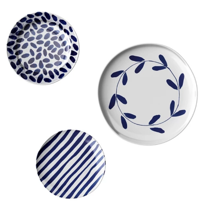 Indigo Brush Dinnerware Set - Target