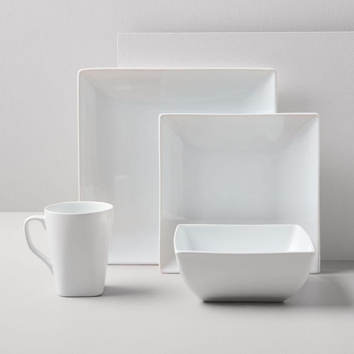 Square Dinnerware Set - West Elm