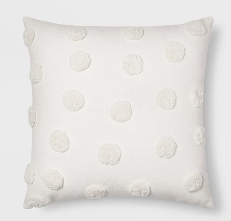 Pom Throw Pillow - $17.99