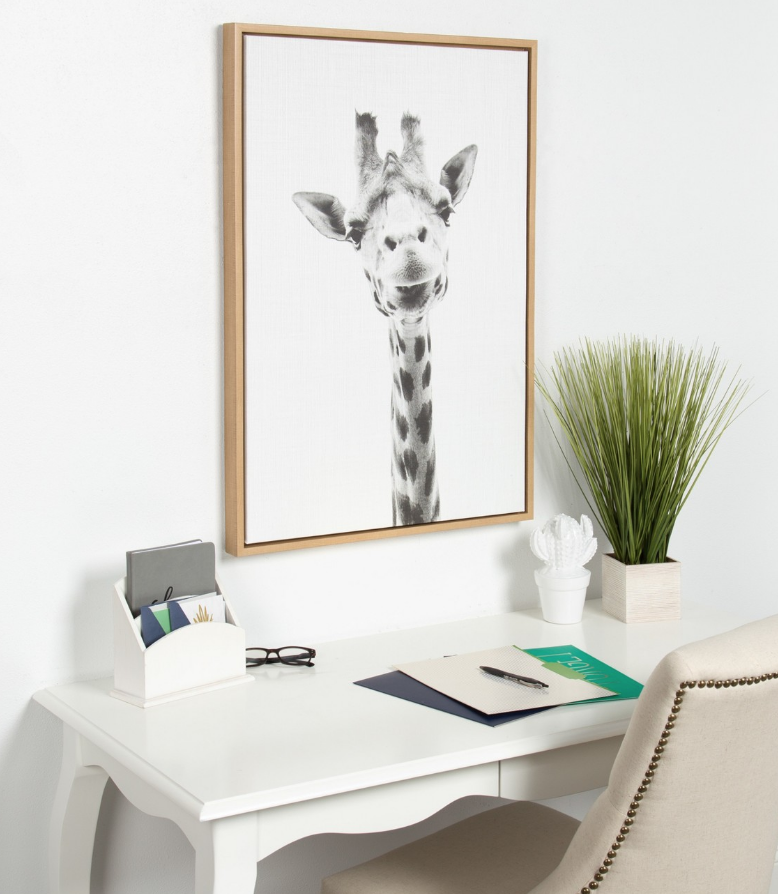 Giraffe Canvas - $69.99