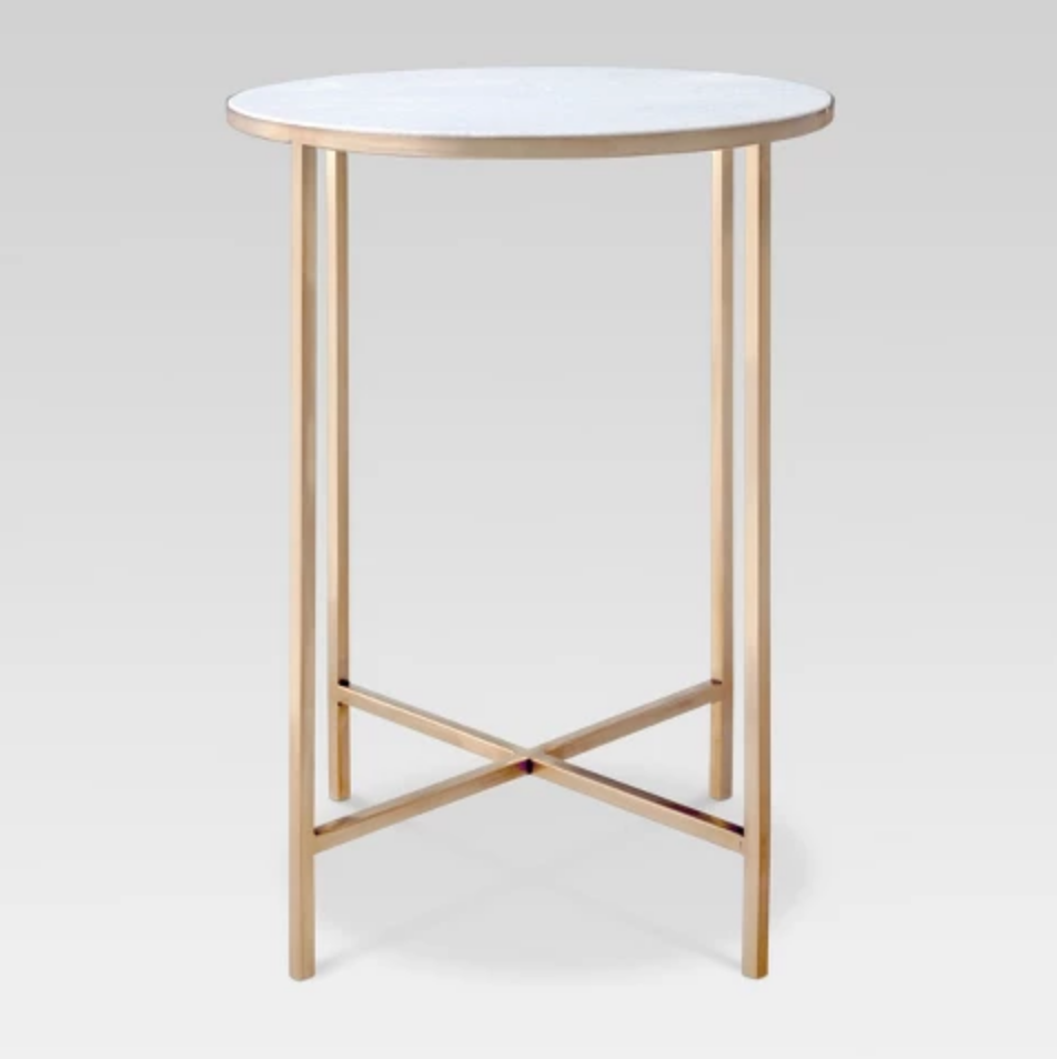 Marlton Gold End Table - $79.99