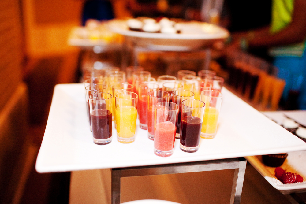 Fresh Fruit Puree Shooters