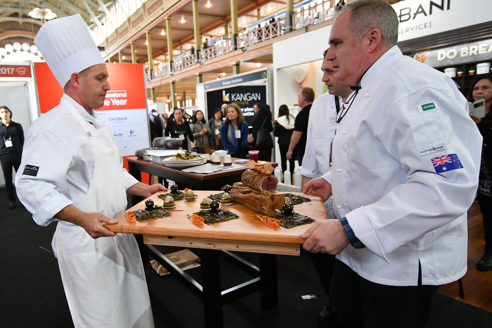 Competition images by Sydney Low, for Bocuse d'Or Australia