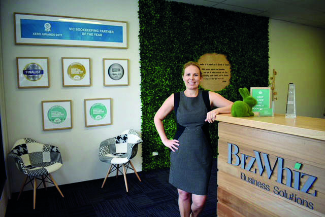 BizWhiz Business Solutions - Kirsten Norman at reception.jpg