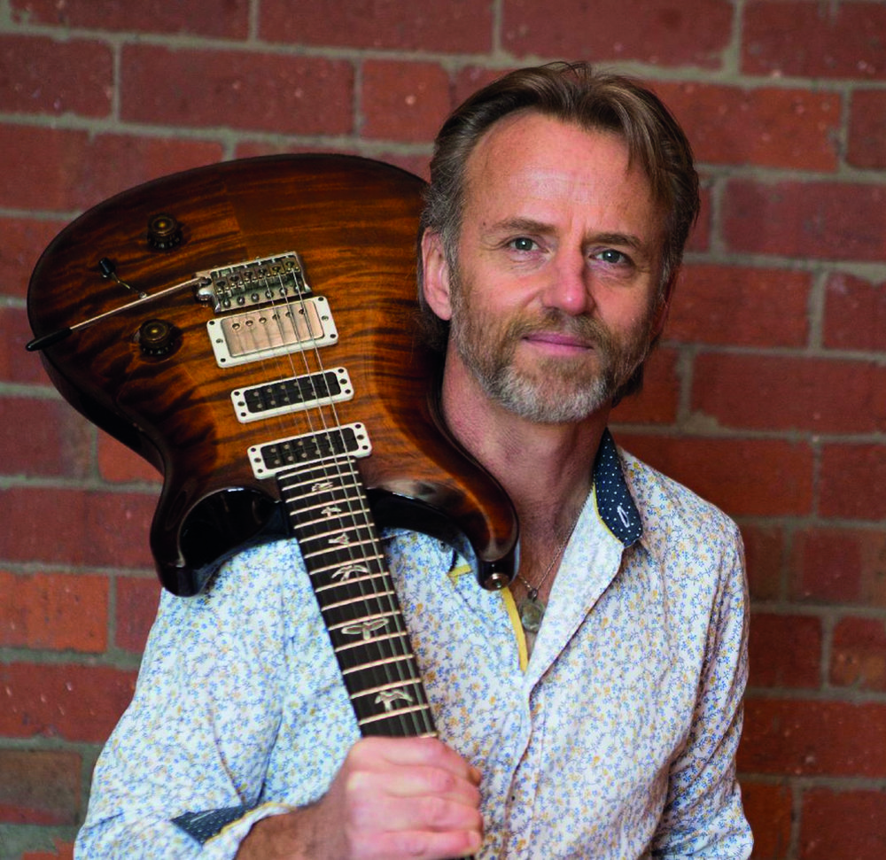 Phillip Island-born bluesman Geoff Achison joins a stellar line-up for February's Mornington Peninsula Blues Festival.
