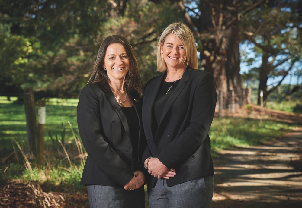 Peninsula Travel manager Vicki Carmichael, left, and managing director Allison Yeates.