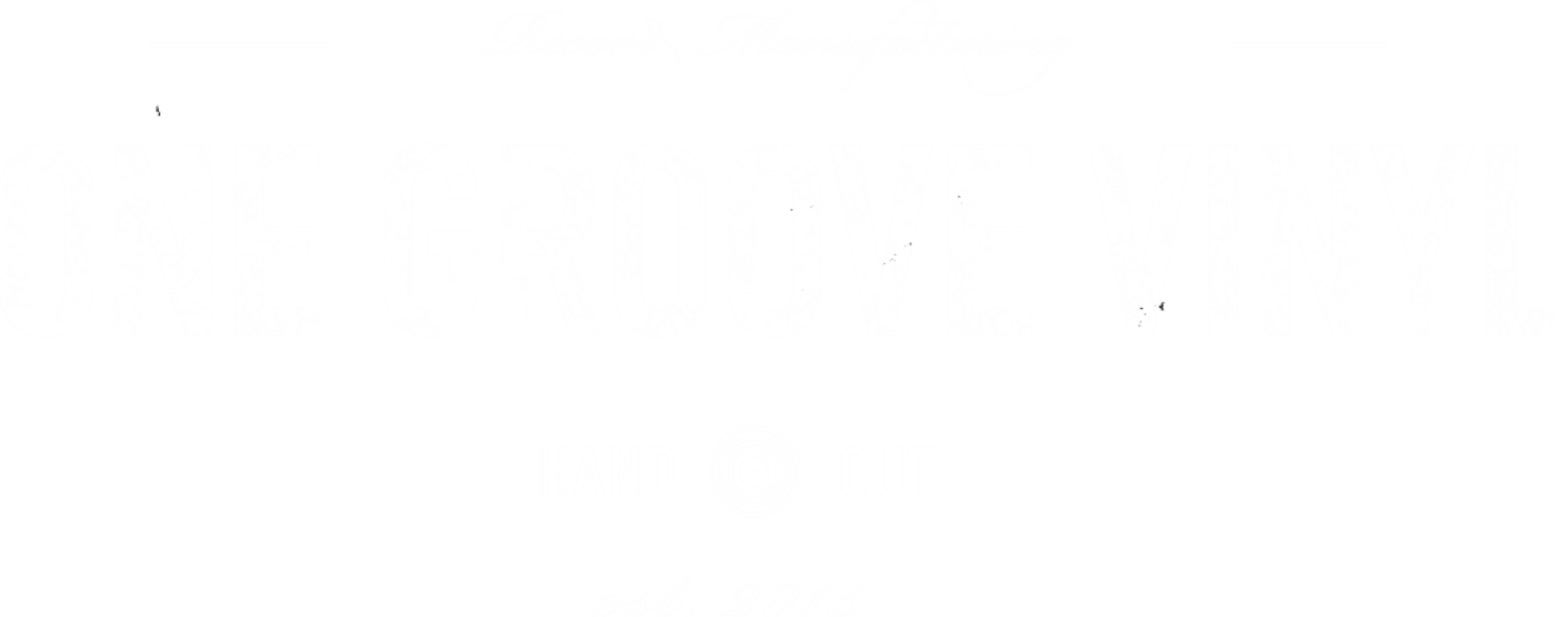 One Groove Vinyl - Lathe Cut Vinyl Records for Short Runs