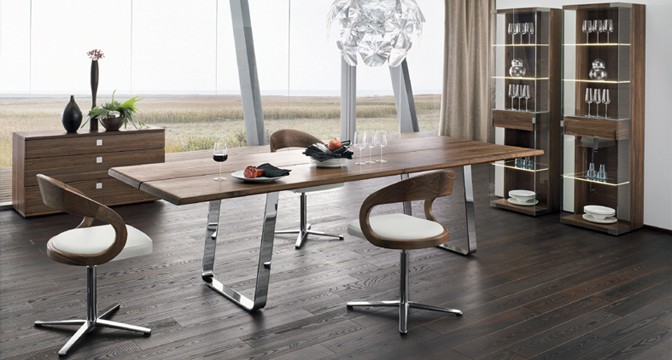 team 7 dining tables german kitchens limited. Black Bedroom Furniture Sets. Home Design Ideas