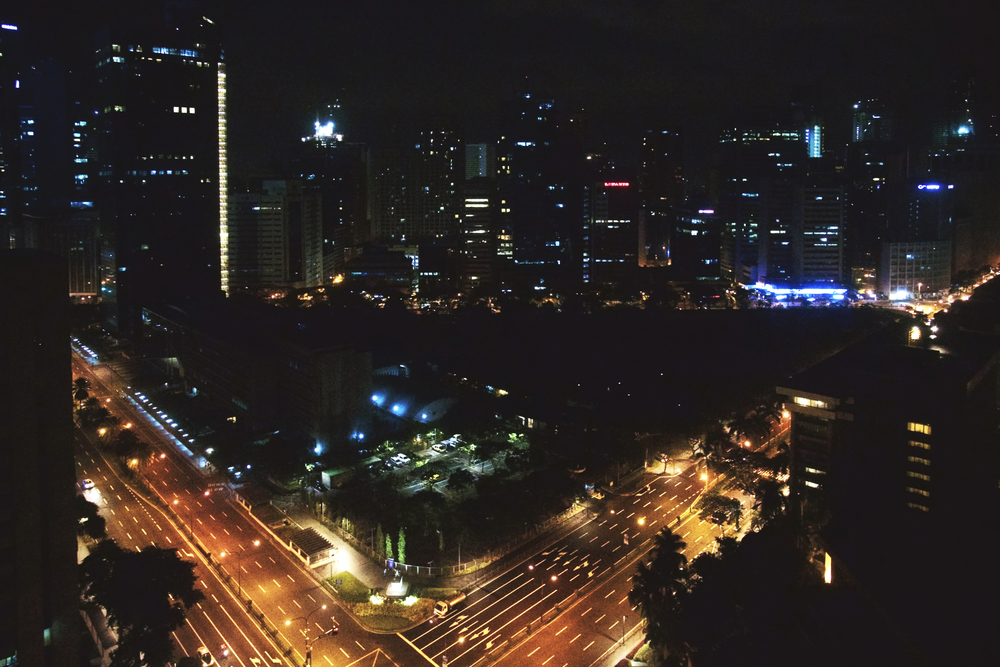 My view from the Makati Shangri-La