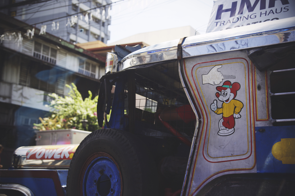 Oh, jeepney, you silly goose