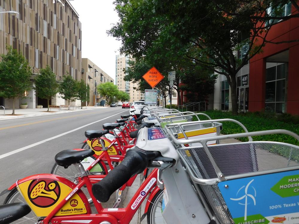Downtown Bike Rental Station