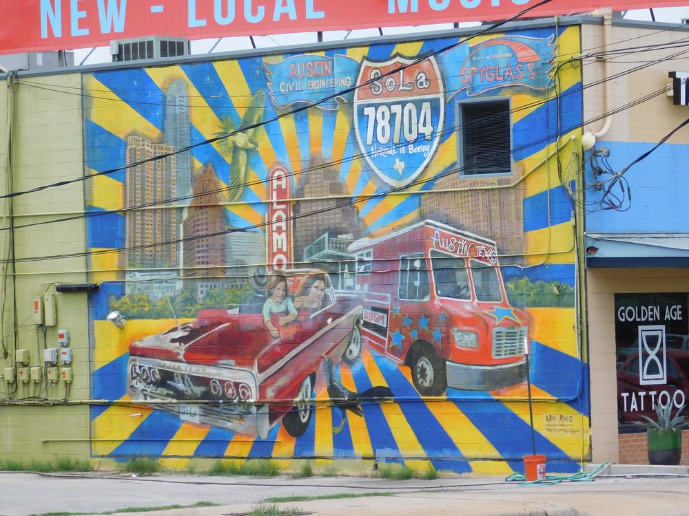South Lamar Mural
