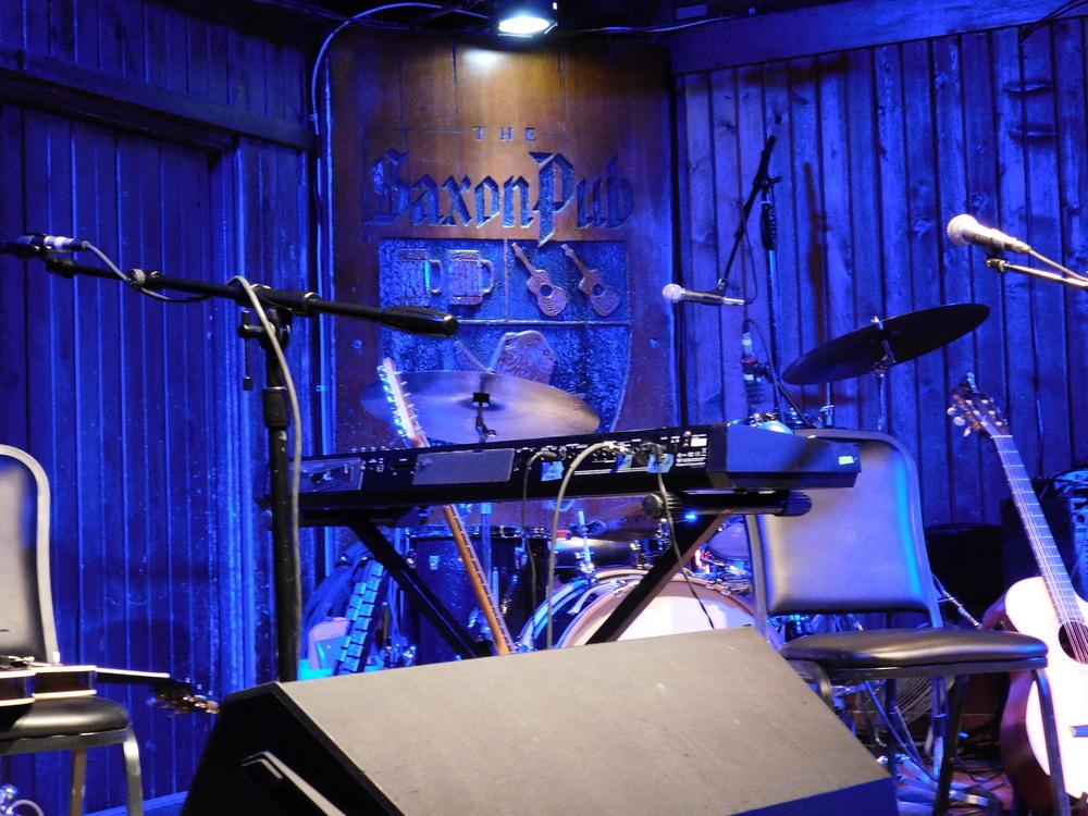 Stage Set At Saxon Pub
