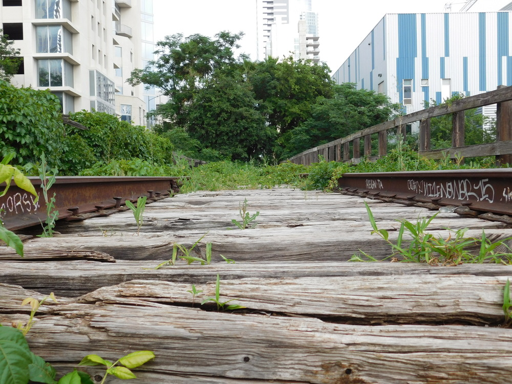 Abandoned Rail Track