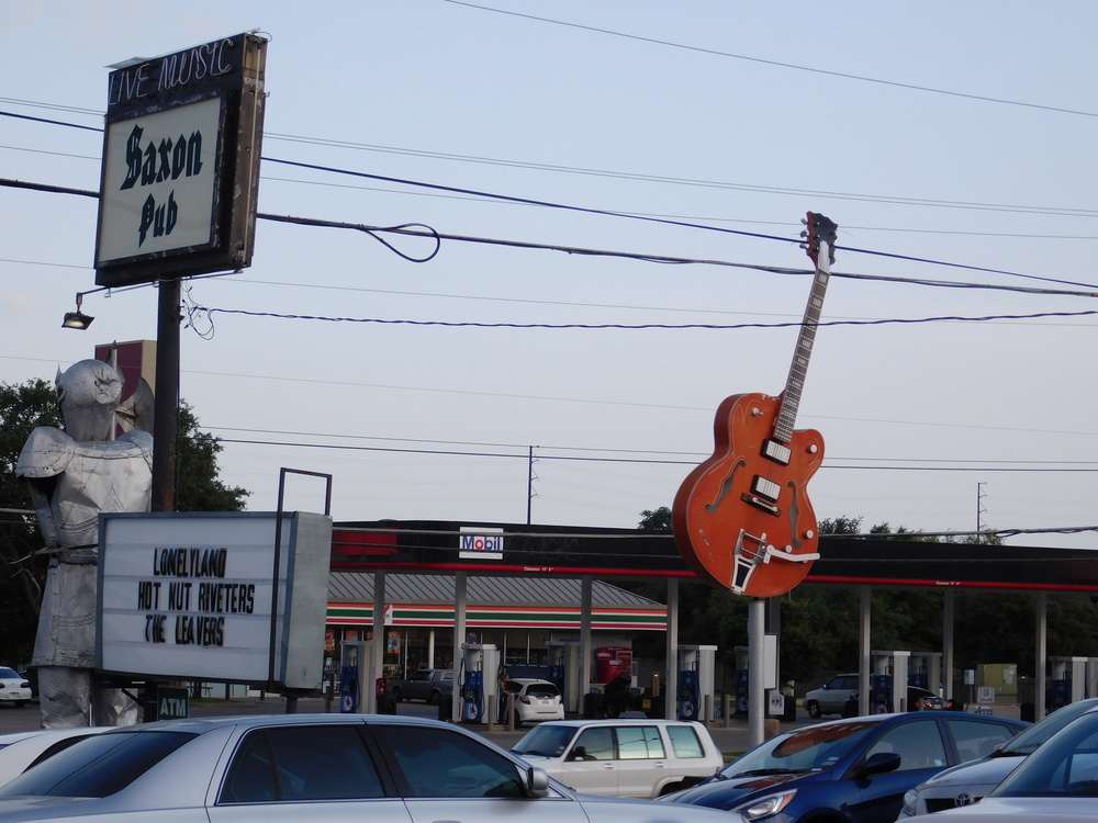 Sign and Guitar