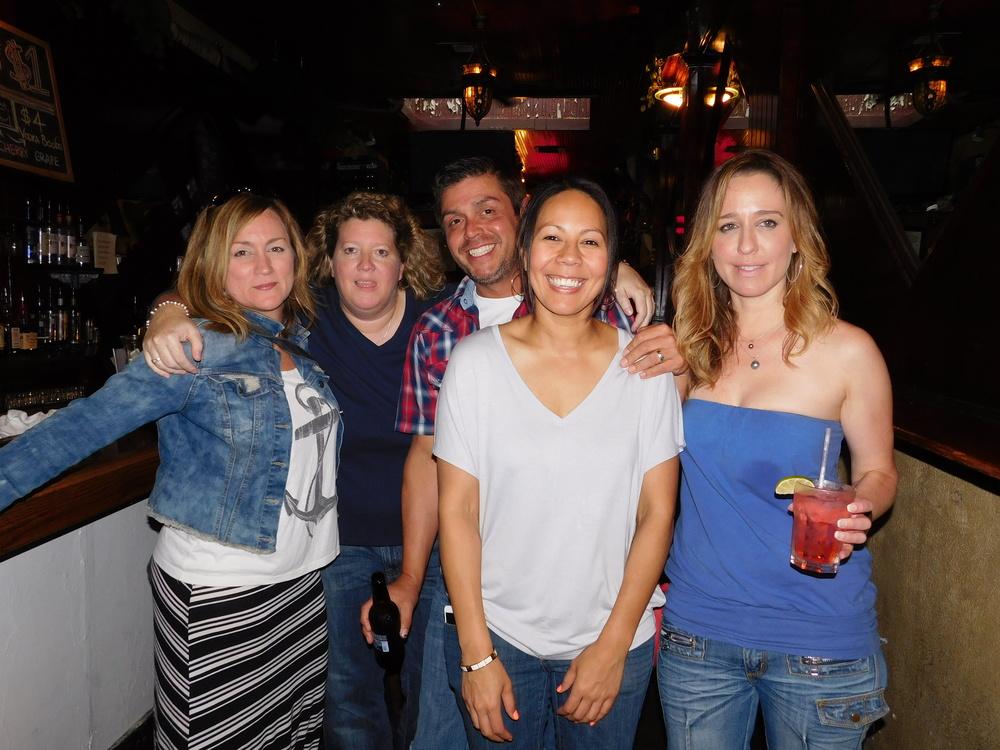Group Of Revelers