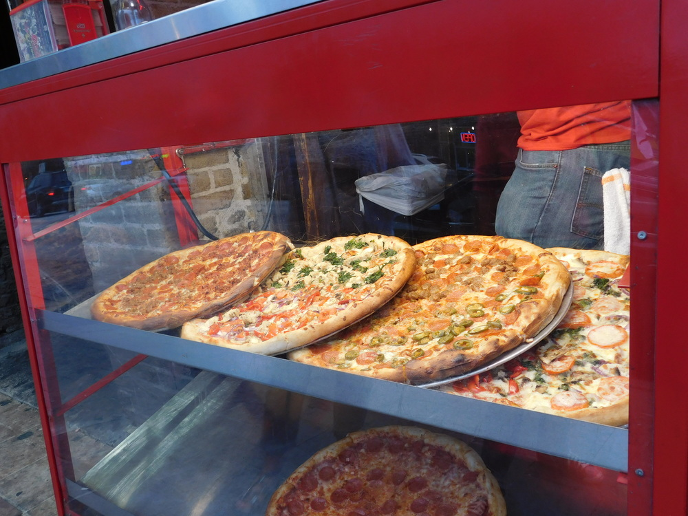 Pizza On Display
