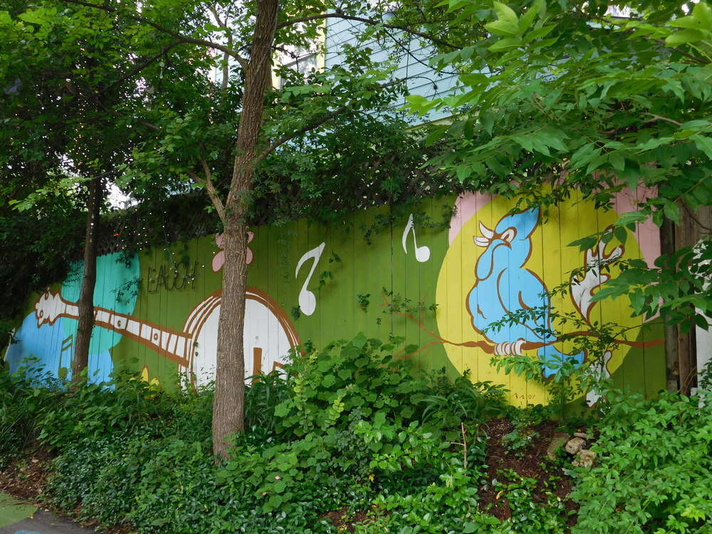 Fence Mural