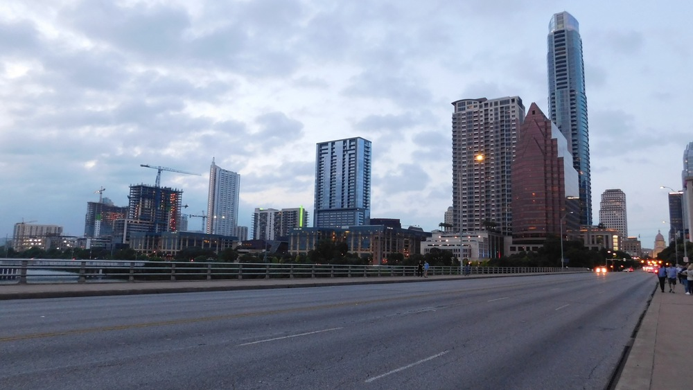 West Side Of Downtown Austin