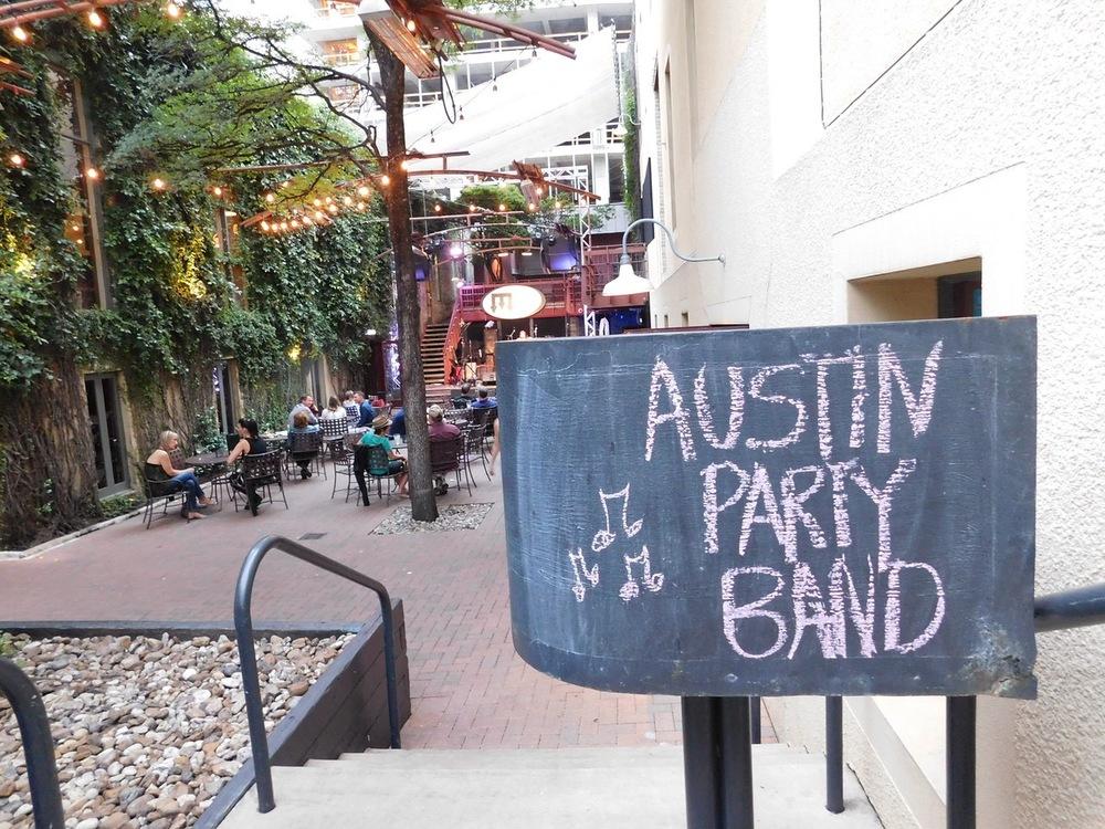 Cedar Street Music Courtyard
