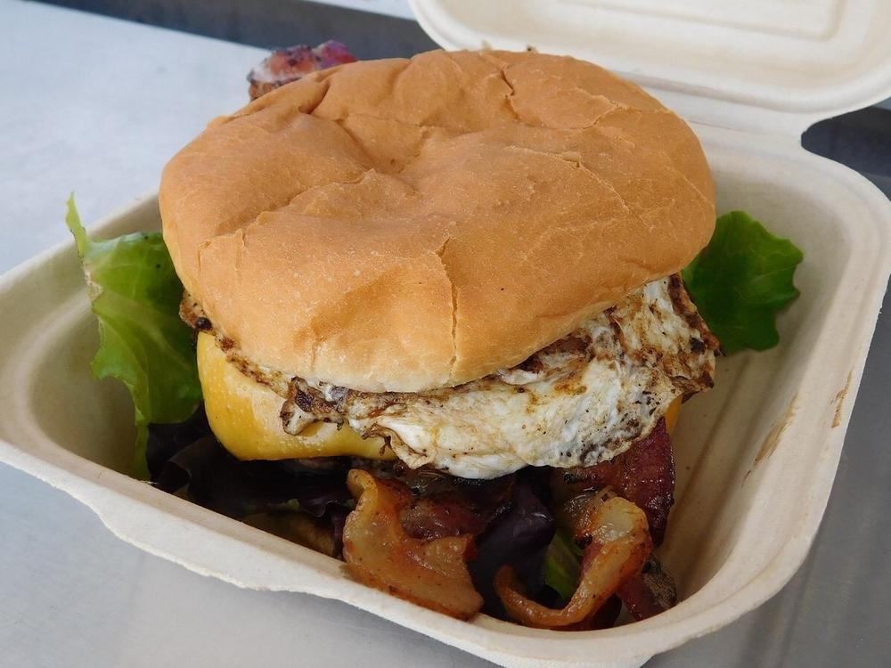 Jersey Breakfast Burger