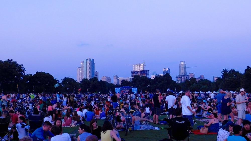 Zilker Park Concert