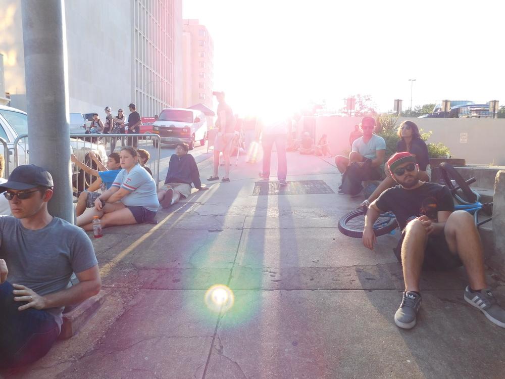 Sunset On 10th Street