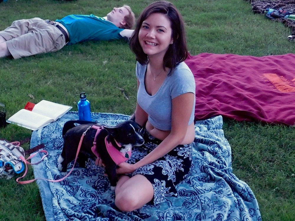 Cute Doggie and Mama
