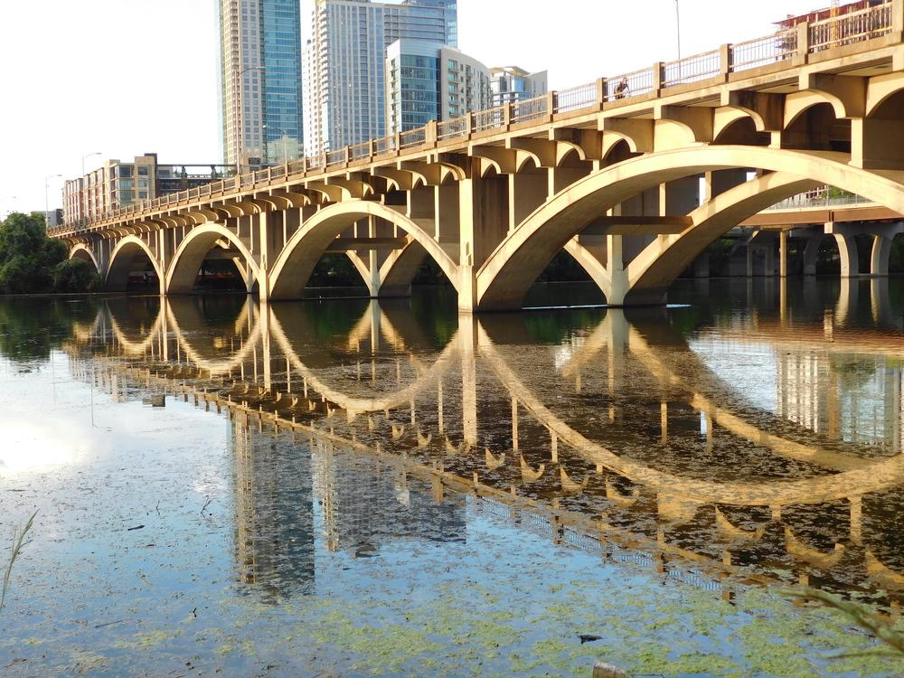 Lamar Boulevard Bridge From Zilker Park