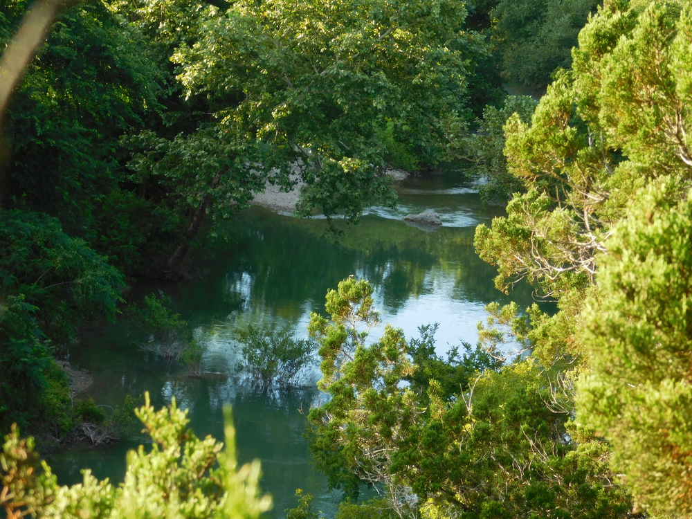 Looking Down On Barton Creek