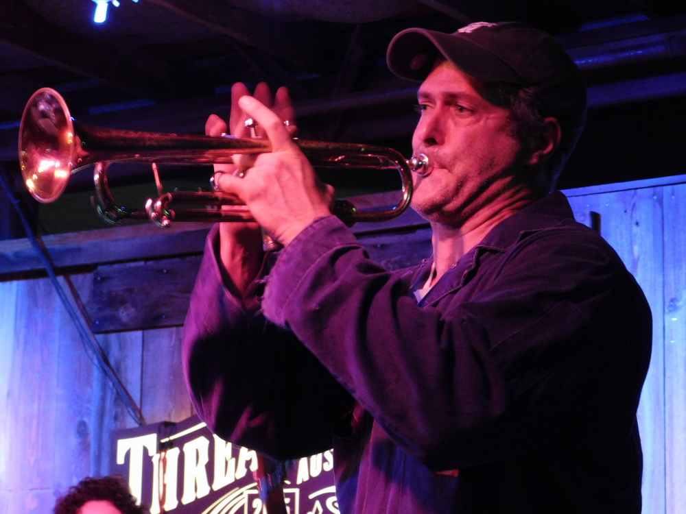 Ollie Steck On Trumpet