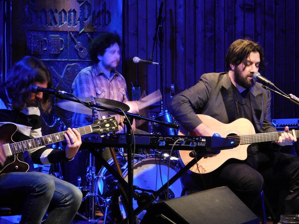 Clint Wells On Guitar At Saxon Pub