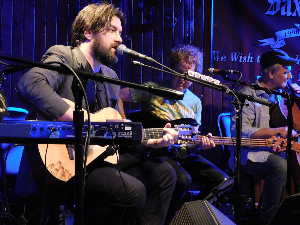Bob Bruce and Danny Levin At Saxon