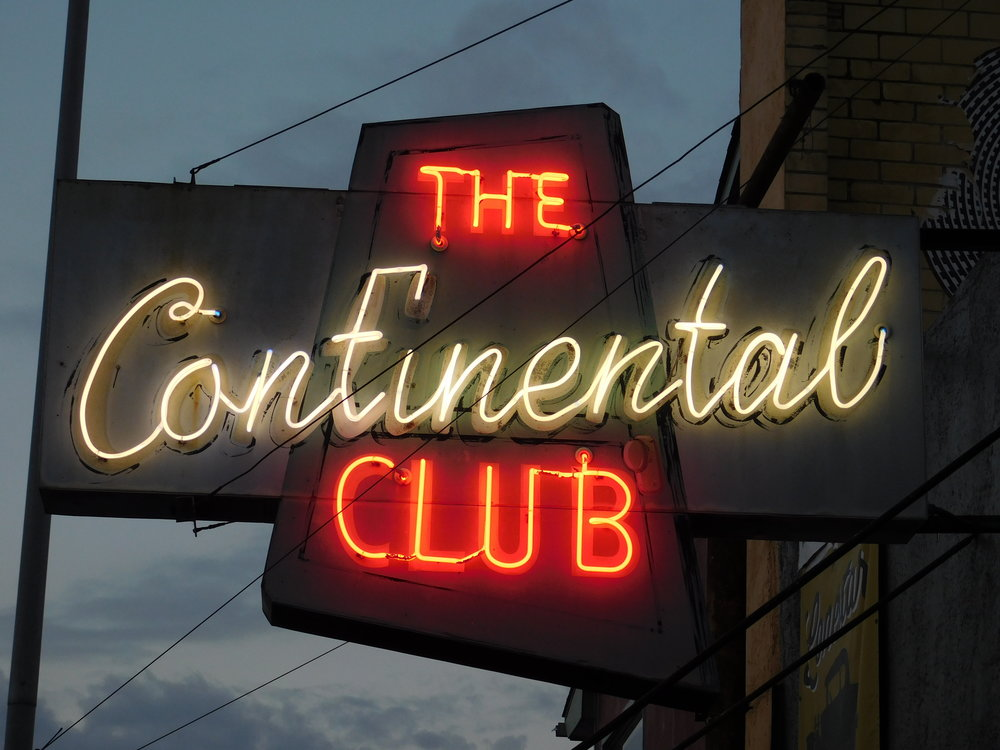 One of the most iconic spots on South Congress is the old school music venue The Continental Club at 1313 South Congress. The Continental Club is part dive, part legendary music venue and the crowd is usually pretty enthusiastic.