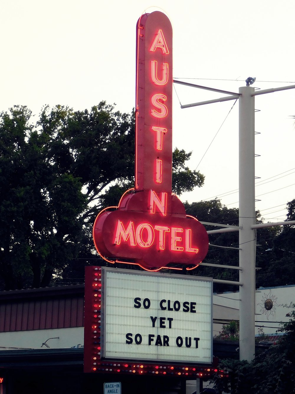 The Austin Motel is the most classic lodging option on South Congress. It's known as much for its retro neon sign as it is for its vintage vibe. The hotel was sold in 2016 but the new owners have pledged to restore the hotel and maintain its charm.