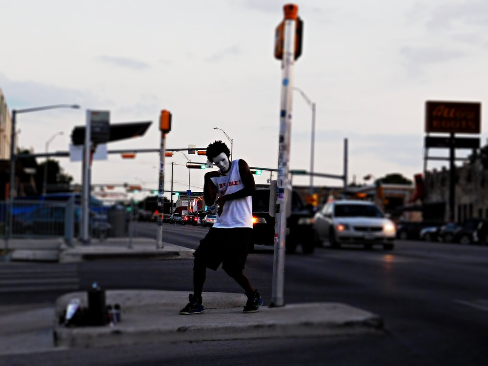 Chances are you'll encounter a street performer (or two) while strolling South Congress.