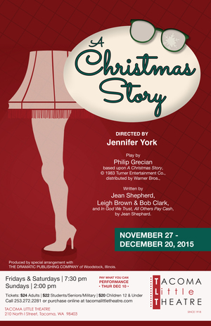 a christmas story tacoma little theatre - A Christmas Story Online