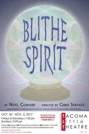 blithe spirit tacoma little theatre