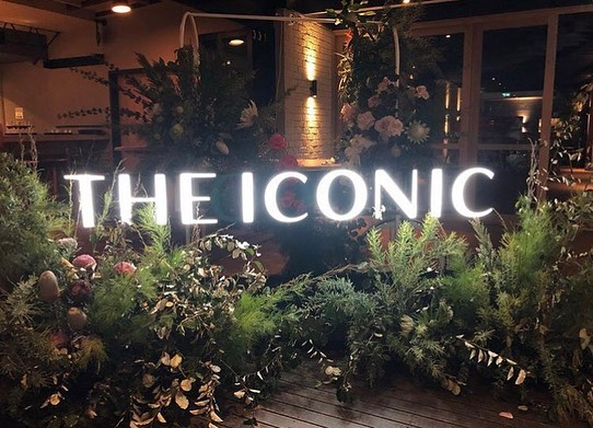 THE ICONIC • Was a blast working for Holly @theflowerdrum w/ @jemmafloral for the @theiconicau 🌸🌾