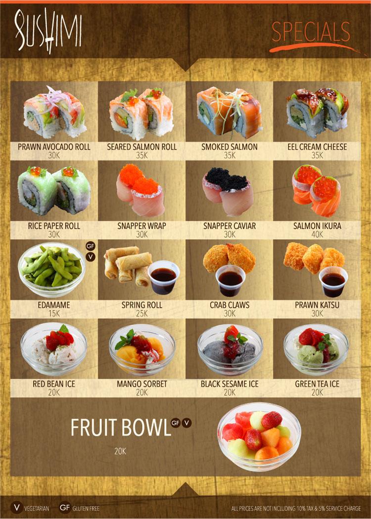 sushimi-specials
