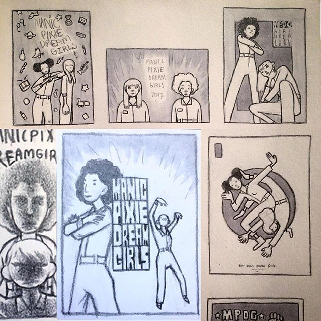 Some thumbnails for that last poster 👍👍👍👍 . . . . . #christianlarrave #lesleythepony #filmmaker #animation #animator #illustration #illustrator #drawing #characterdesign #illustrationart #gif #gifs #gifart #comedy #funny #artistsoninstagram #handdrawn #handdrawing #nyc #art #music #musician #fun #picoftheday #thumbnail #posterart #posterdesign