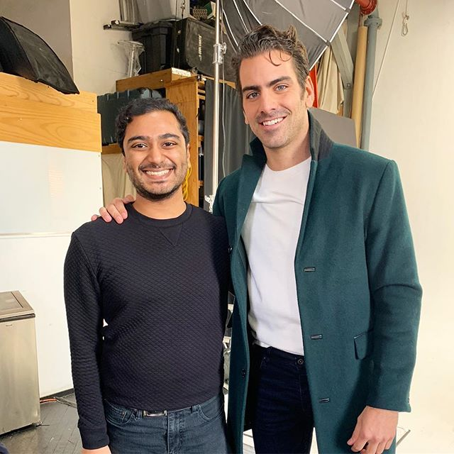 Produced a shoot with the amazing @nyledimarco today
